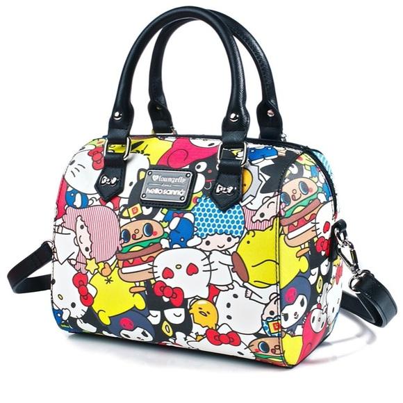 1aa677d18 Sanrio Bags | Loungefly Hello Duffle Bag Hello Kitty Bag | Poshmark